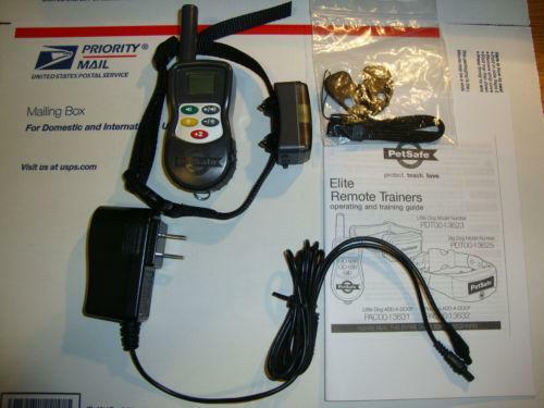 petsafe shock collar remote instructions